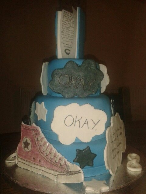 #faultinourstars cake