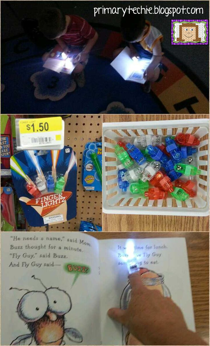 Shine a little light on reading! Blog post about where to get them and ideas for using them in the classroom.