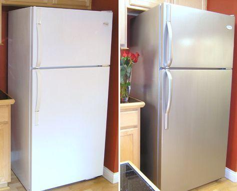 Renueva los electrodomésticos de la cocina por muy poco dinero con esta original solución