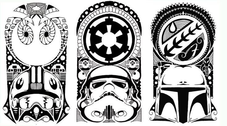 by Stevie B Tattoo's... IF i was to get a SW ink it would be one of these!