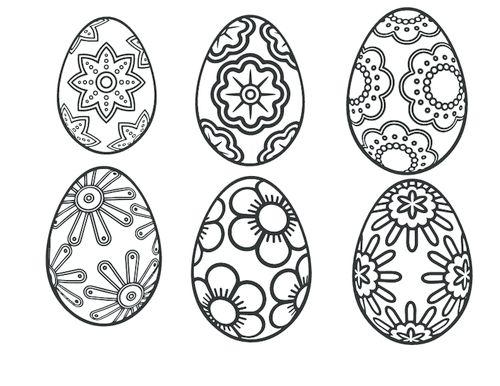 Easter Egg Patterns   #Easter #Egg #Patterns #Kids #Color