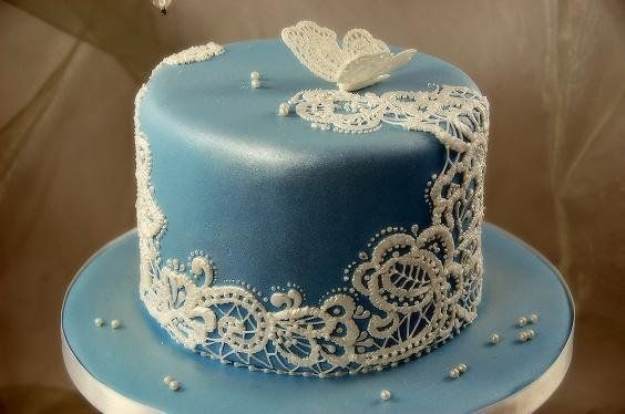 Royal Icing Cake Decorating Designs : Lace Royal Icing cake Cakes & Cake Decorating ~ Daily ...