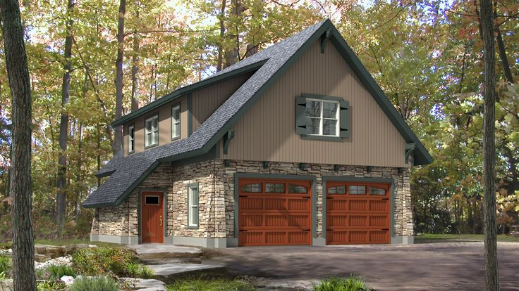 Comforting 3 Car Carriage House Plan 29827rl: 25+ Best Ideas About Carriage House Plans On Pinterest