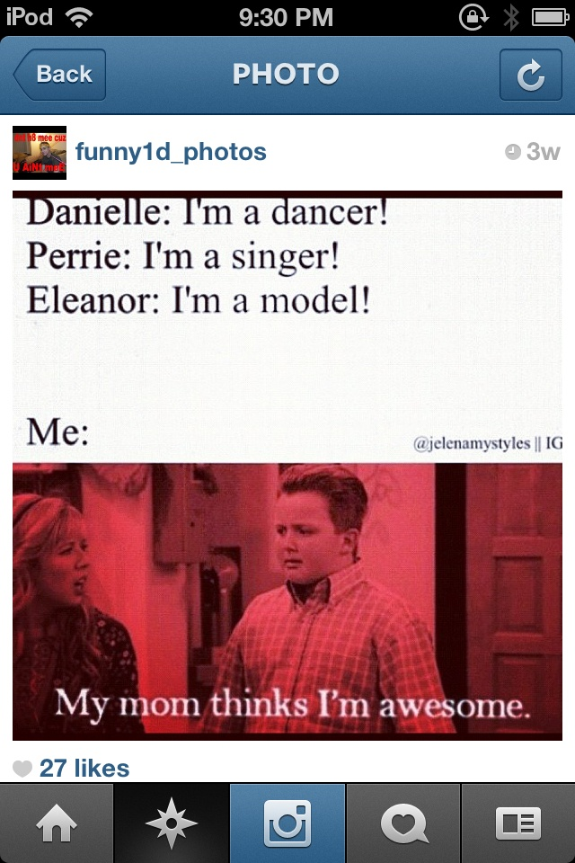 That's right! (I'm going to ignore the fact that Eleanor is not a model, although she could be.)