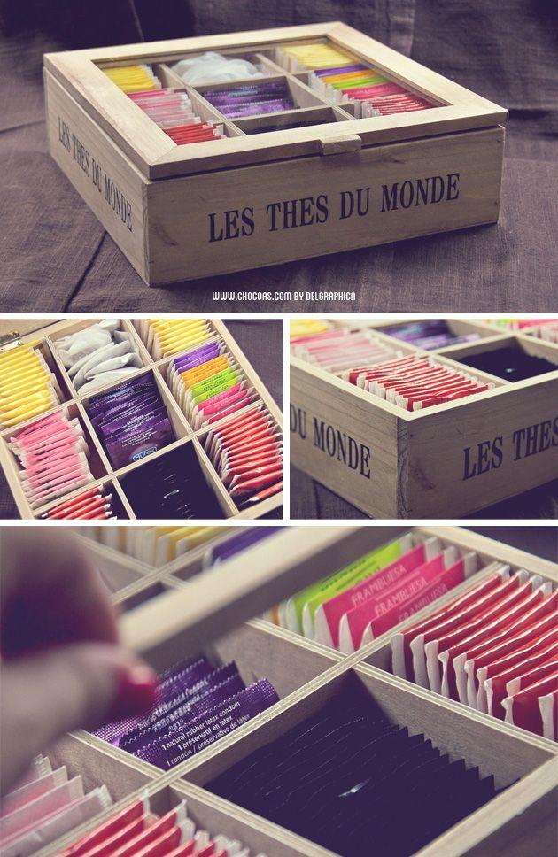 cajas de t para regalar amigo invisibles suegras