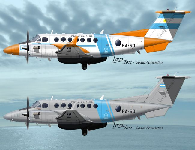 King Air 350ER - Prefectura Naval Argentina