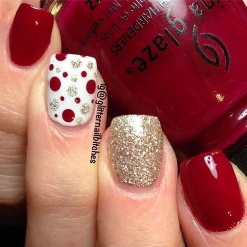 415 best winter nail art images on pinterest uas de navidad uas diy christmas nail art 50 christmas nail designs you can do yourself solutioingenieria Images