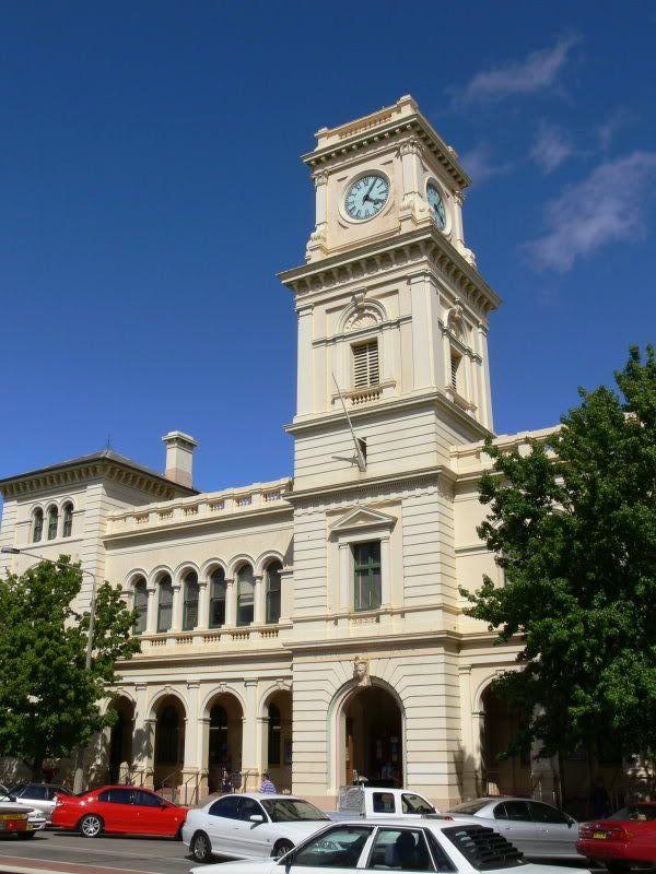 Image: Goulburn, NSW, post office.