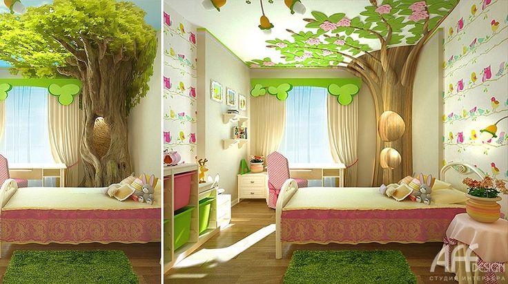 интерьеры детских комнат с зонами - Поиск в Google