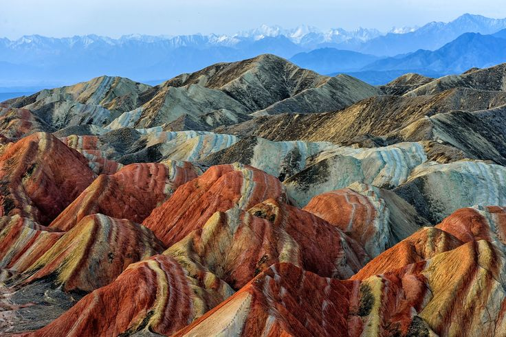 Discover China's Magical Rainbow Mountains | Architectural Digest