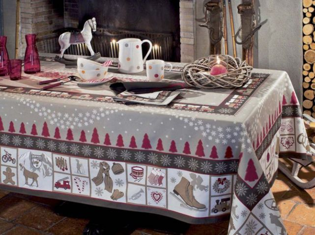 Linge de table chalet beauville
