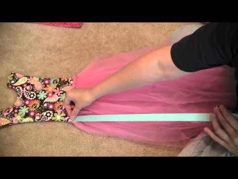 Tutu bow holder tutorial Part 2