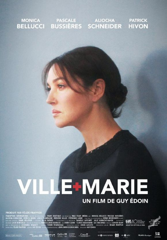 Directed by Guy Édoin. With Monica Bellucci, Pascale Bussières, Aliocha Schneider, Patrick Hivon. An actress mother and her estranged gay son's lives intersect with those of two medical professionals after an unexpected tragedy, forcing secrets to be revealed and personal demons to be dealt with.