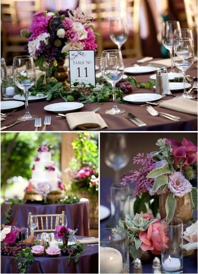 1000 images about burgundy wedding decoration on pinterest for Burgundy wedding reception decorations