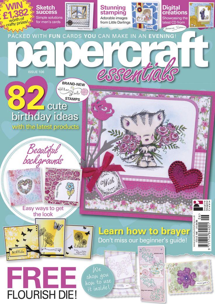 Paper Craft Magazine Crafting