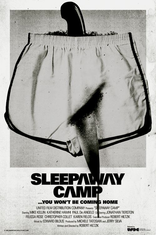 Sleepaway Camp, horror, movie, poster, art