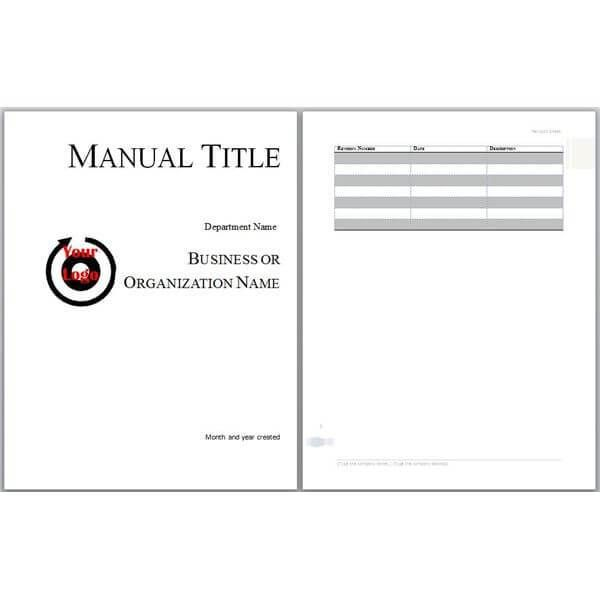 Download 60 Training Manual Templates In Just 1 Click Word Template Templates Words