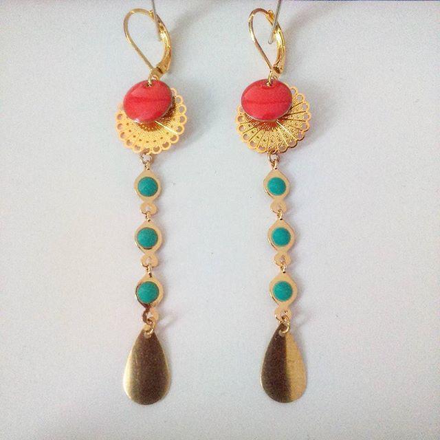 #BO #madebyfrance #handmade #jewels  Modèle : Irénée. 20 euros (frais de port inclus)