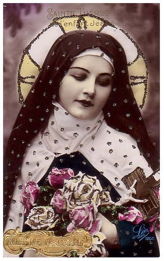 I love you my Little Flower Saint Teresa, you are always showering me with roses from heaven.