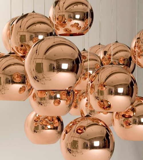 Cheap Lamp Pendant, Buy Quality Light Bulb Shaped Lamp Directly From China  Light Led Lamp Suppliers: NEW Tom Dixon Copper Shade Mirror Chandelier  Ceiling ...