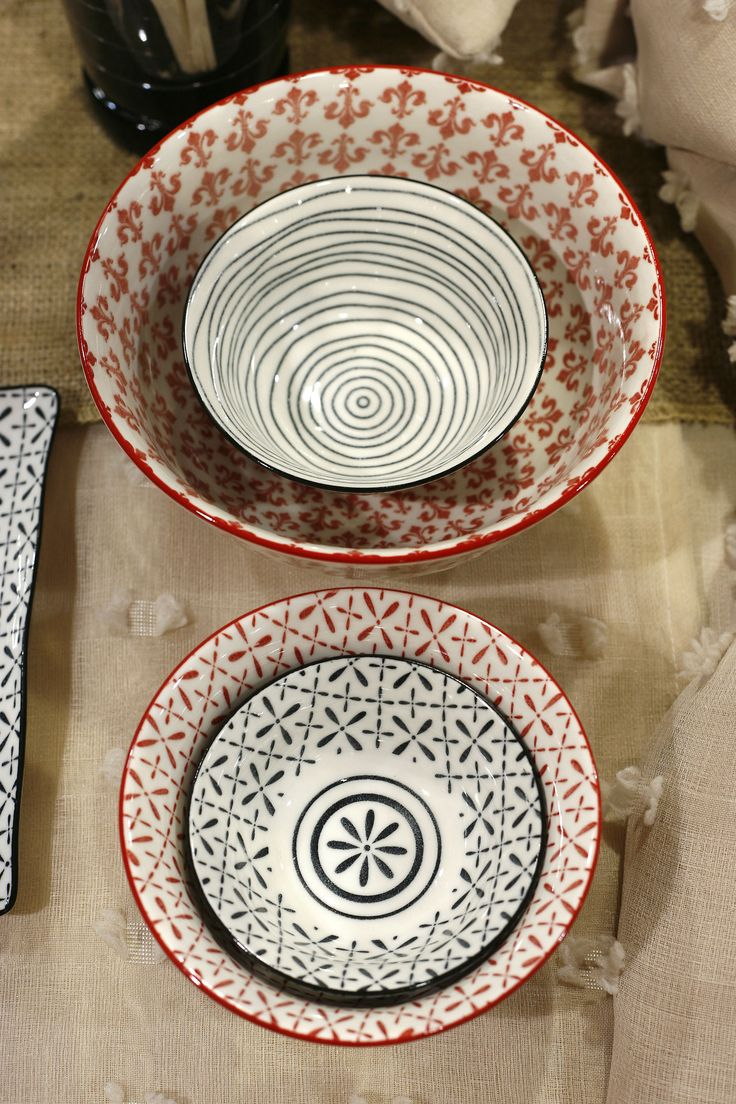 Boho Dinnerware. New Trend Bowl and Plates.  Discover more at www.espiel.gr