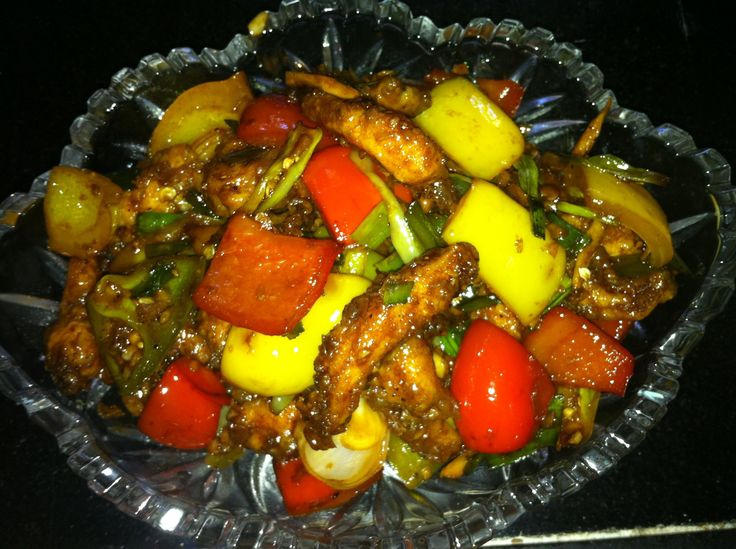 How to make Chilli Chicken Dry / Indo Chinese Chilly Chicken Recipe Restaurant Style - http://www.cookingnovel.com/how-to-make-chilli-chicken-dry-indo-chinese-chilly-chicken-recipe-restaurant-style/ #cooking #recipe #food