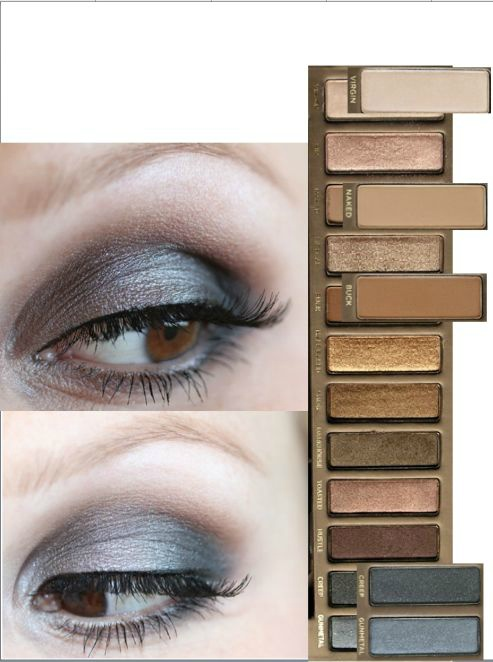 Naked Eyes Neutral Eyeshadow Guide: 17 Best Images About Naked Palette Looks On Pinterest