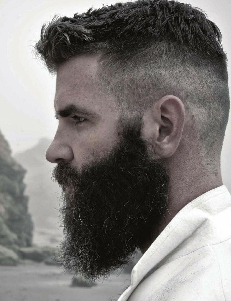 #barbas y #bigotes en nuestro tablero https://www.pinterest.com/SantanaHairArt/beards-moustaches/ de #Pinterest