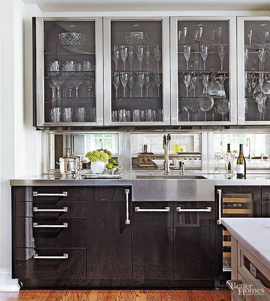 Wet bar ideas wet bars and door displays for Updating kitchen ideas