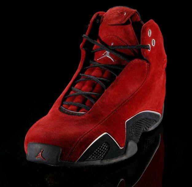 Air Jordan 21 (XX1 or XXI) - Varsity Red / Metallic Silver - Black