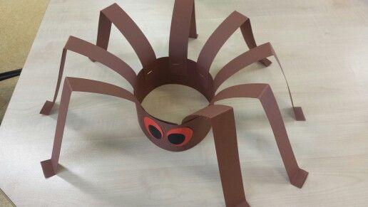 Spinnenkroon, #knutselen, kinderen, basisschool, kleuters, wc-rol, toiletpapier…