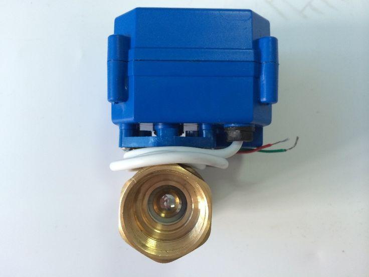 """Шаровой клапан с электроприводом 3/4 """" DN20 DC12V"""
