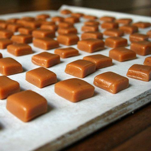 Homemade caramel candy!