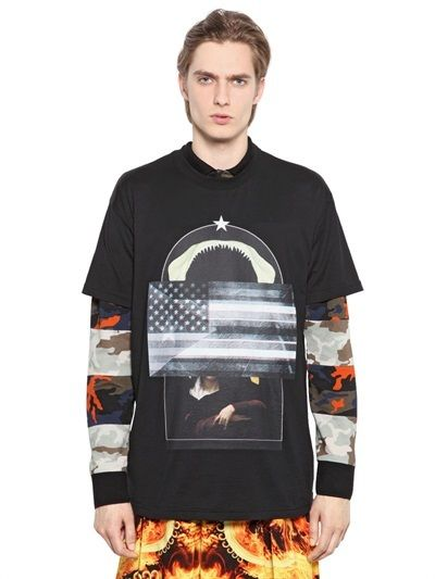 Givenchy Cotton Jersey Columbian Fit T-Shirt on shopstyle.com