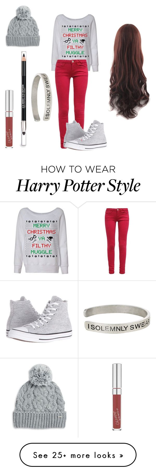 """Untitled #23"" by imkindaboring on Polyvore featuring Converse, Rella, The Body Shop and Warner Bros."