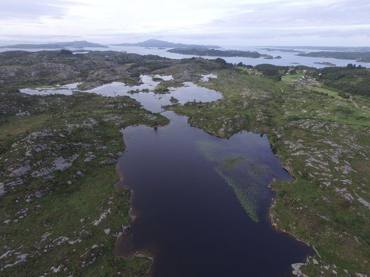 Gismarvik Tysvær looking at Bokn