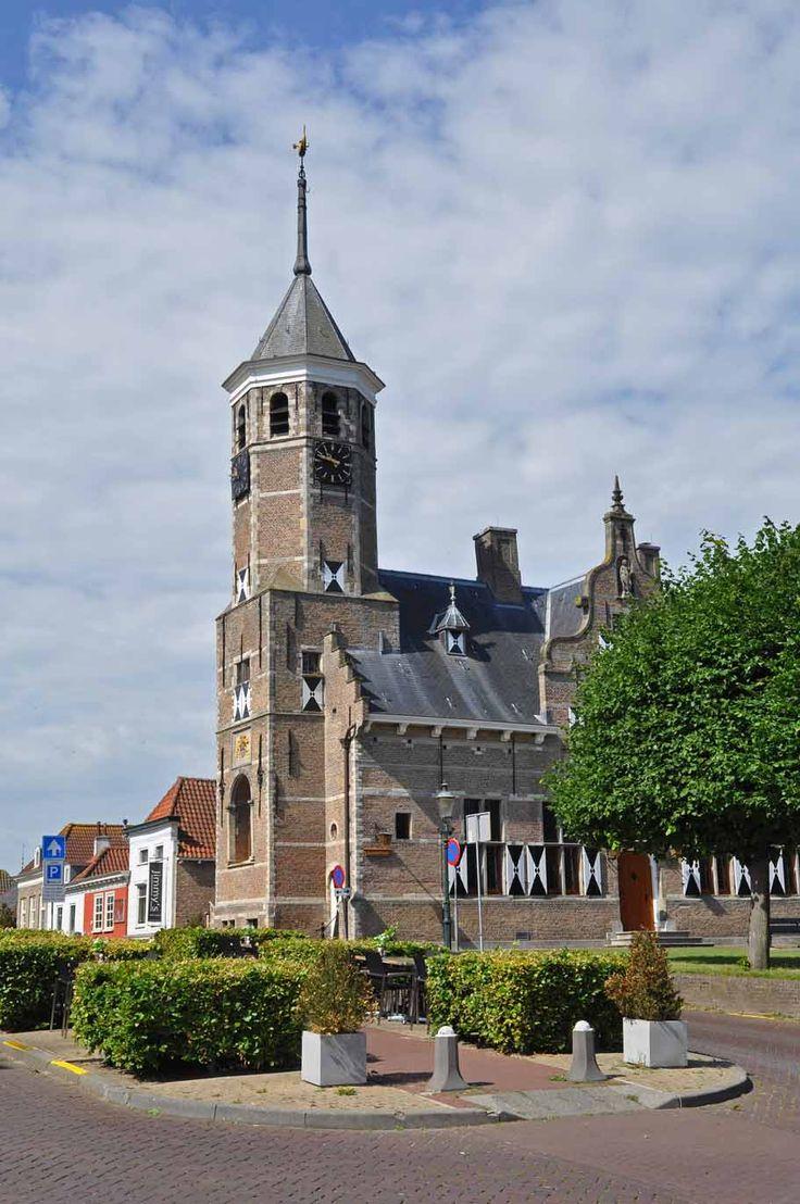 Oude Stadhuis, Willemstad, Noord-Brabant.