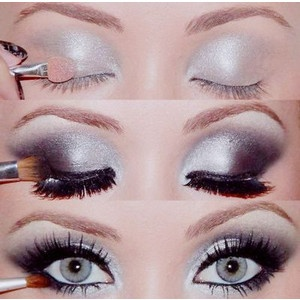 evening makeup supreme.