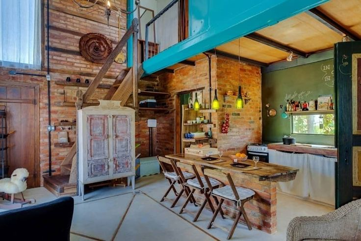 Casa ReFit: Salas de estar rústicas por Ferraro Habitat