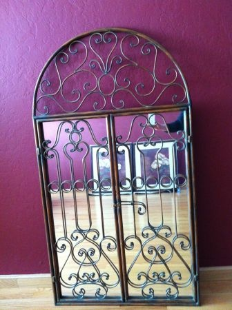 16 Best Images About Wrought Iron Mirrors On Pinterest