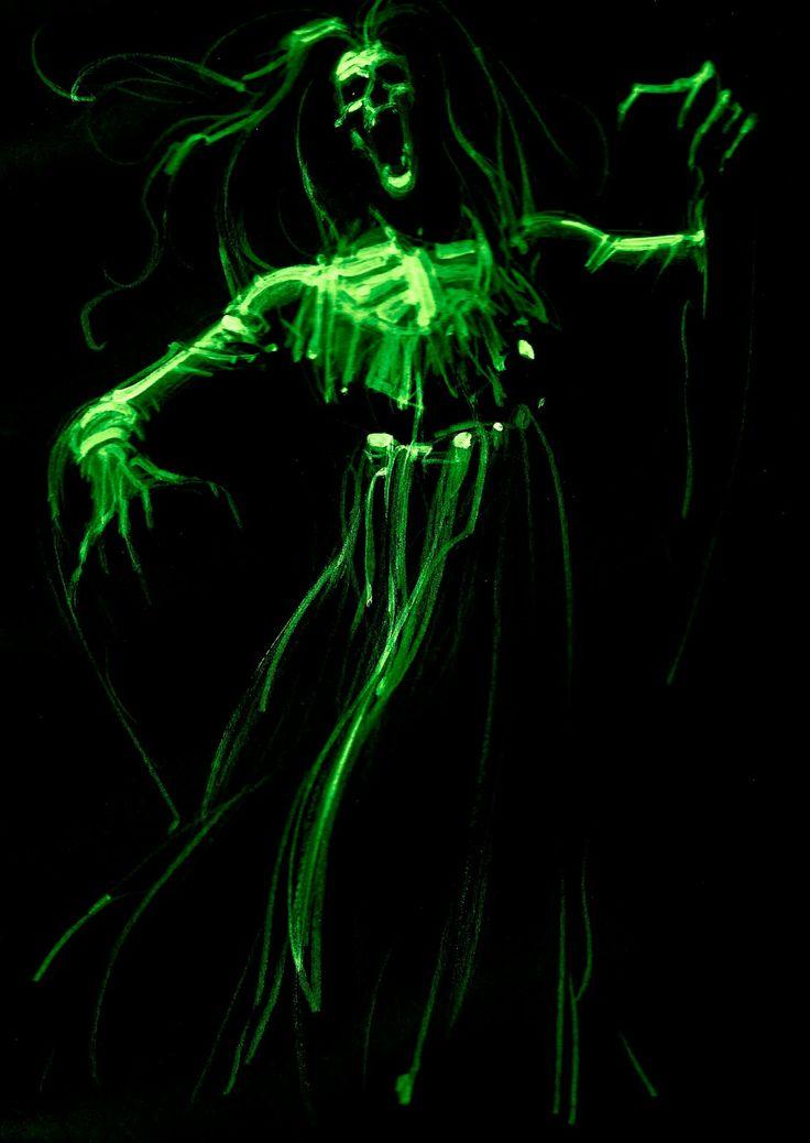 the art of john watkiss black light spooks black agenz 20 x 48 halloween skeletonshalloween arthalloween decorationshalloween