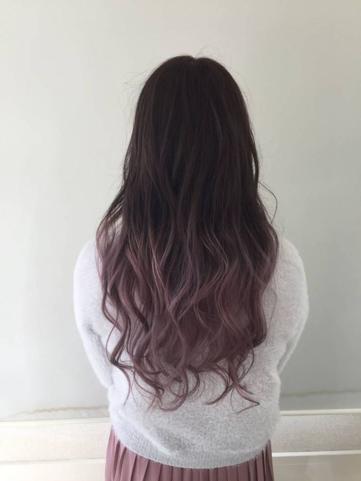 地髪を活かしたお手軽カラー♪黒髪グラデーションヘアカタログの12枚目の画像   ARINE [アリネ]