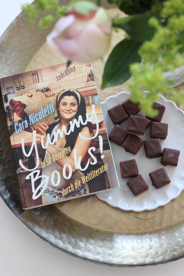 Was Salzkaramellen mit Schokolade mit Yummy Books! auf sich hat & Verlosung #anzeige #yummybooks #gewinnspiel #book #newblogpost #rezepte #verlosung