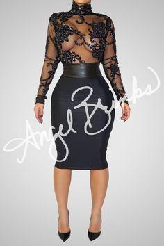 Main Attraction (Black)   Shop Angel Brinks on Angel Brinks