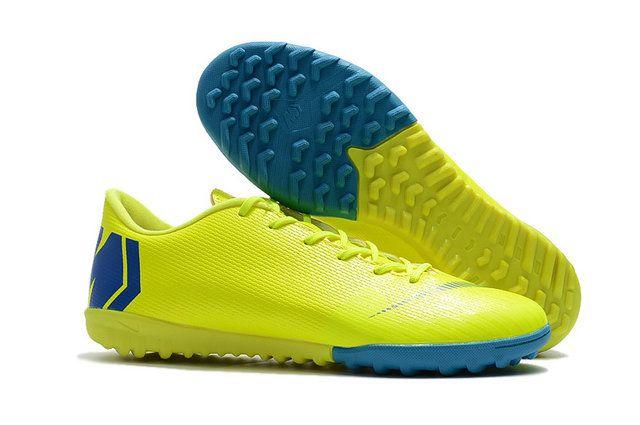 c0aba4999413 Nike Mercurial Superfly Vi Lemon Yellow Blue Shoe