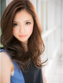 カバーヘア ブリス 戸田公園店(COVER HAIR bliss) *+COVER HAIR+*…顔色もキレイに魅せる!艶ブラウンの大人ロングb