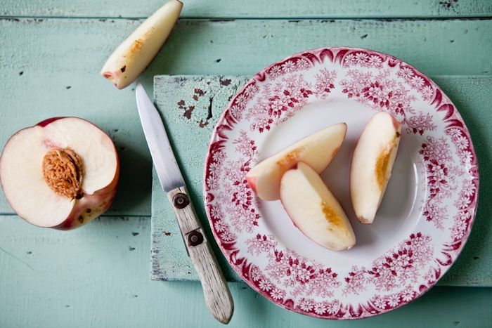 white peaches | sweet | Pinterest