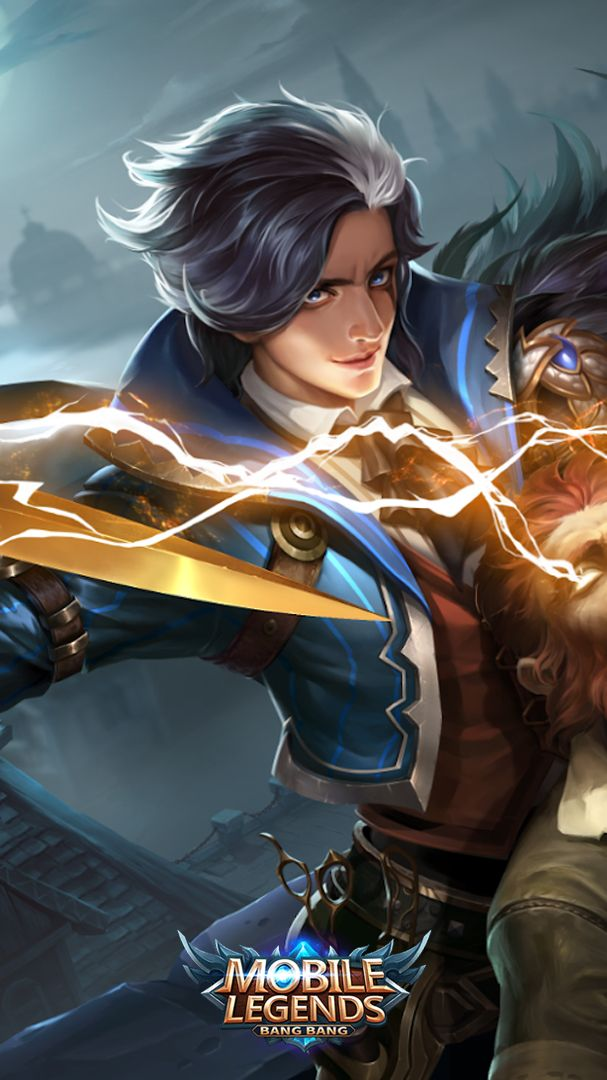 Gusion Hairstylist Mobile Legend Wallpaper Mobile Legends Alucard Mobile Legends