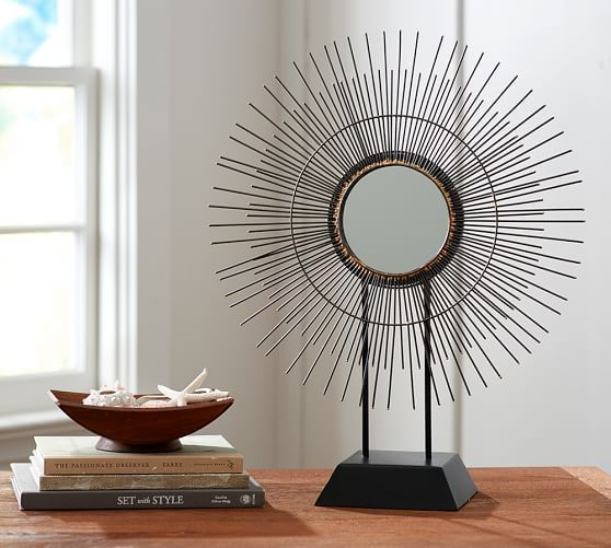 Decorative Mirror on Stand | Pottery Barn