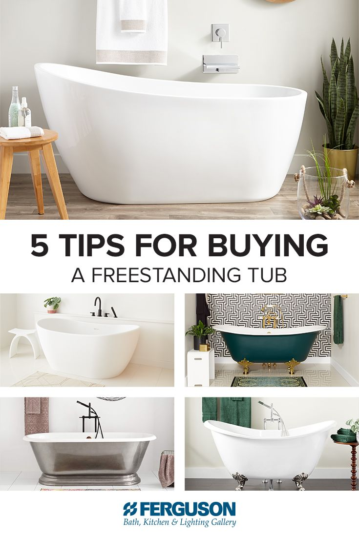Freestanding Tub Buying Guide Best Style Size And Material For